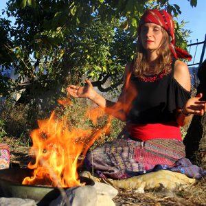 Alicia Kusumitra Mayashamanin Hara meets Womb Power
