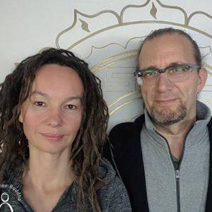 Ludmilla und Roland erwachte Meister und Sprecher bei Hara meets Womb Power